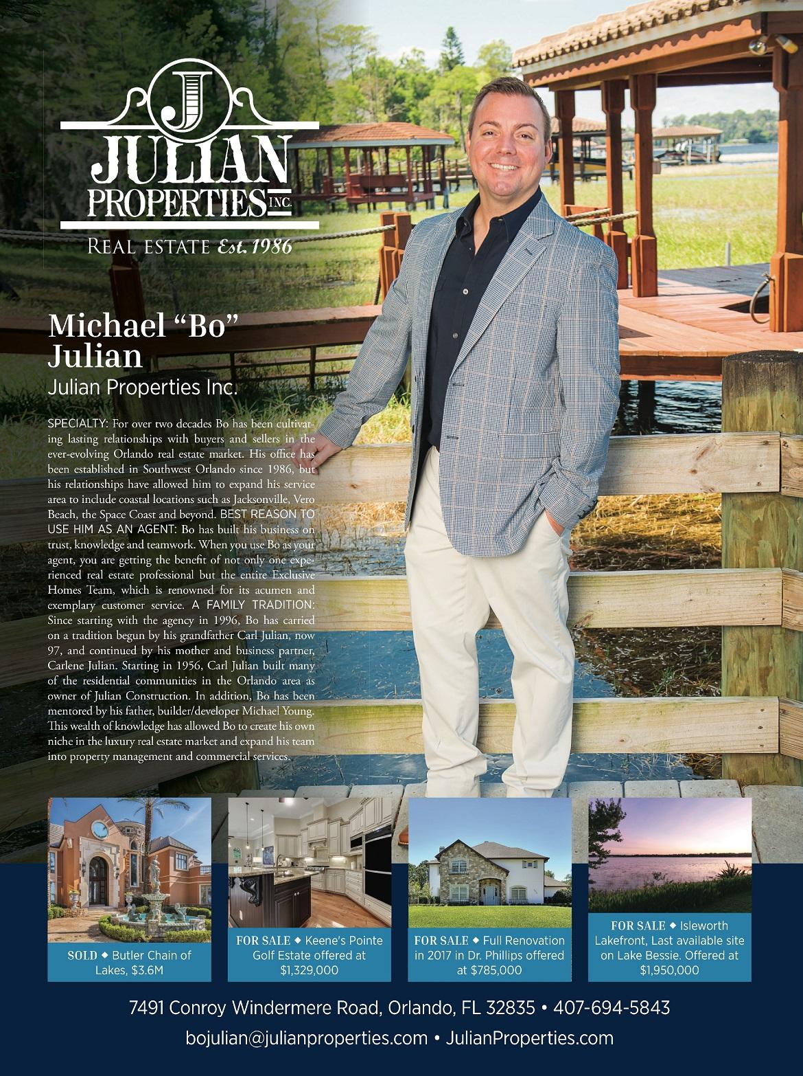 Bo Julian Julian Properties
