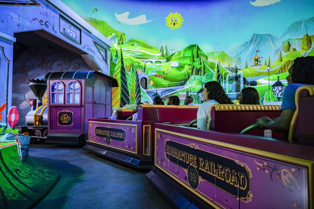 Runnamuck Park In Mickey & Minnie's Runaway Railway
