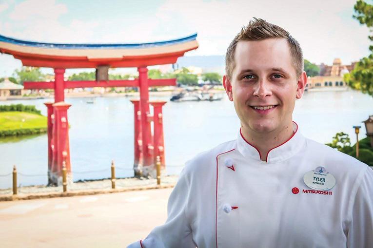 Chef Tyler Schmitt Takumi Tei