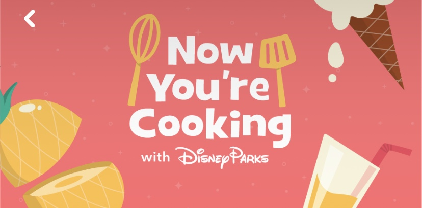 Cooking With Disney Graphic