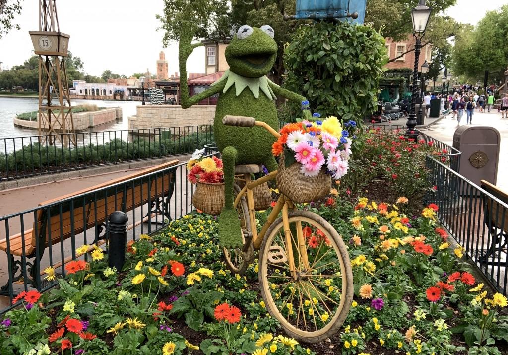 Kermit Topiary Wdw F&g Fehr 2020