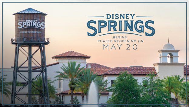 Disney Springs Reopening 2