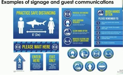 Seaworld Orlando Reopening Signage