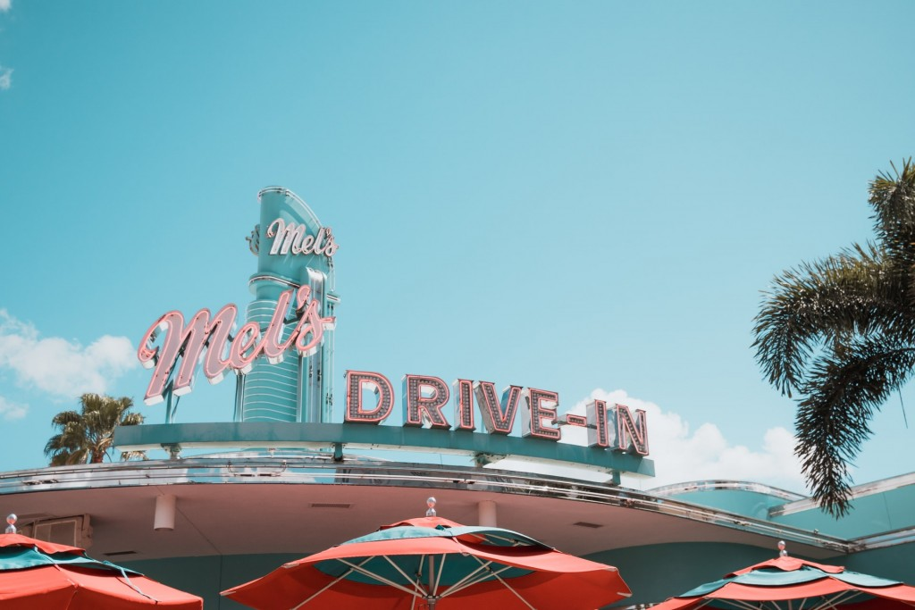 Mel S Drive In Building Signage 1860622