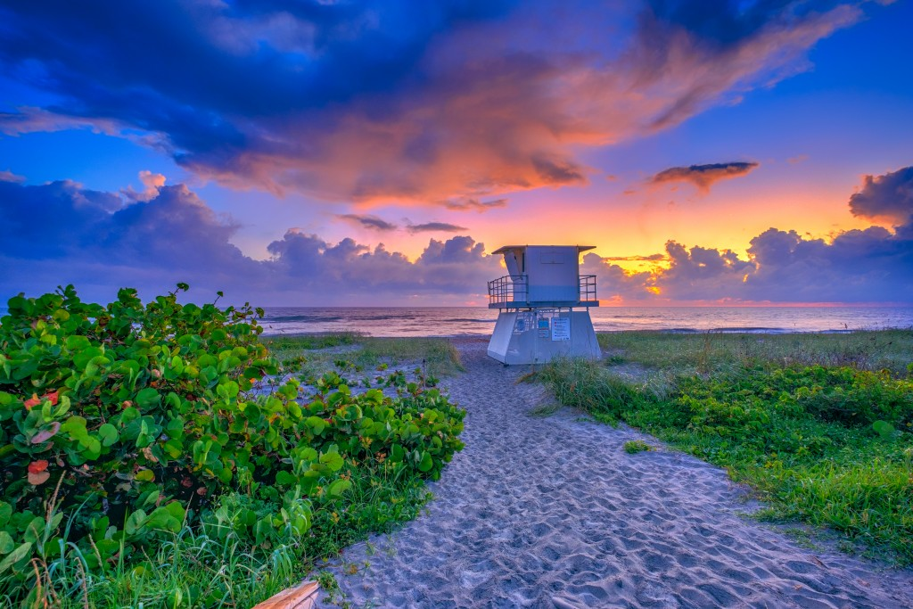 Hobe Sound Beach Martin County Sunrise Treasure Coast