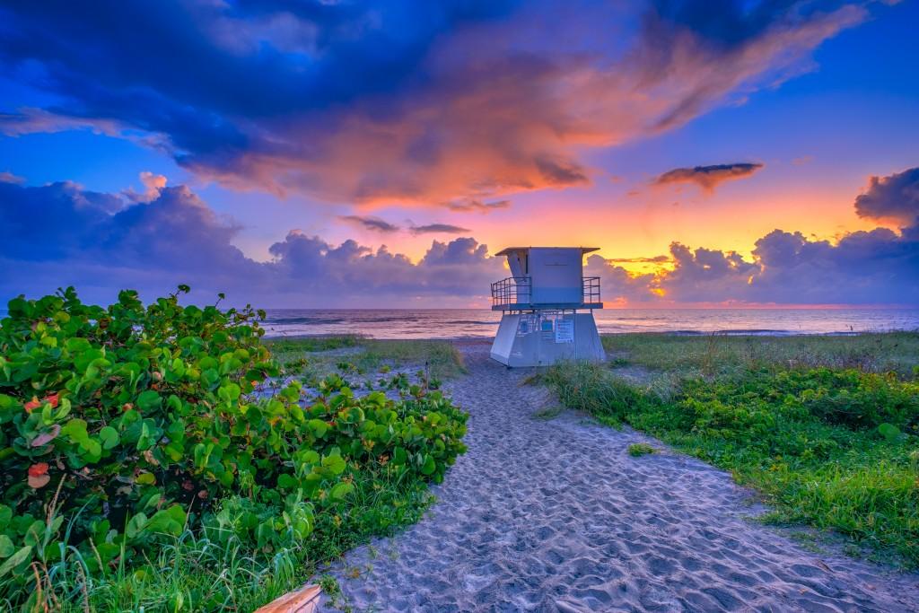 Hobe Sound Beach Martin County Sunrise Treasure Coast
