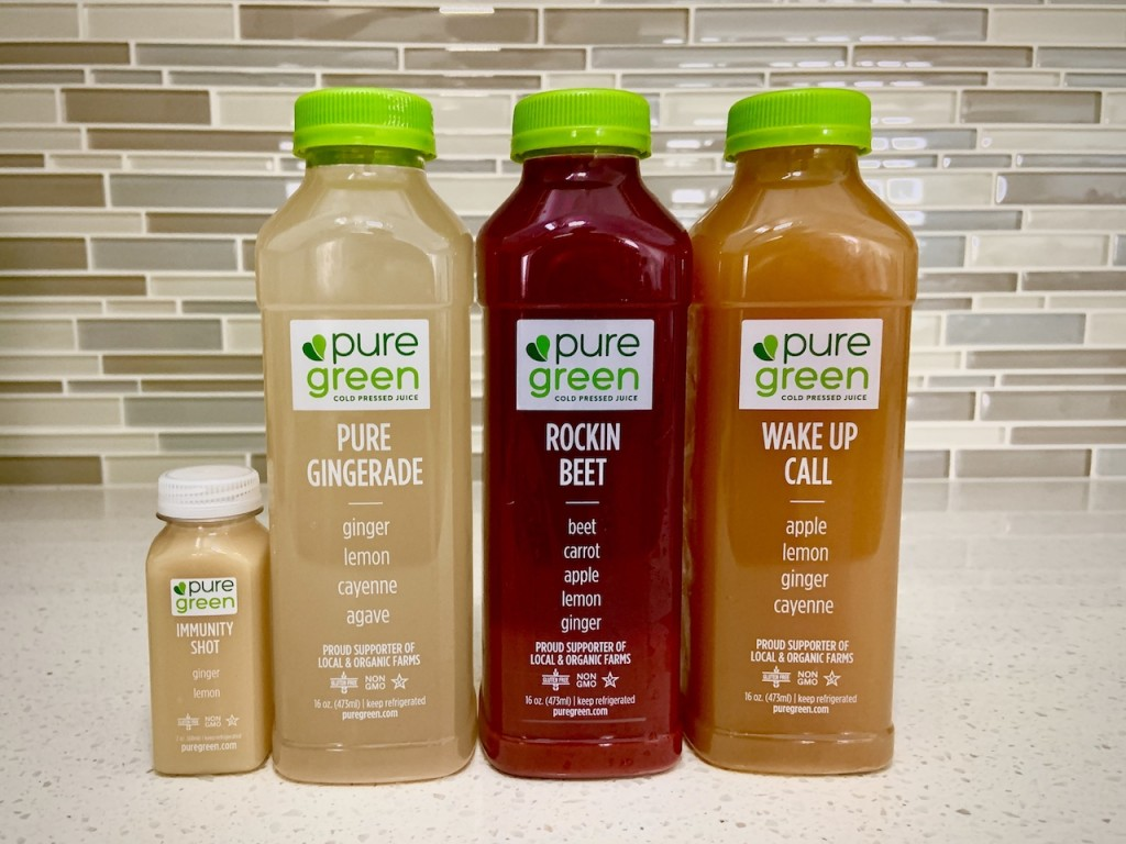 Pure Green Juices At Home Landscape