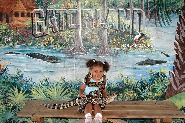 Never To Young For Gatorland!