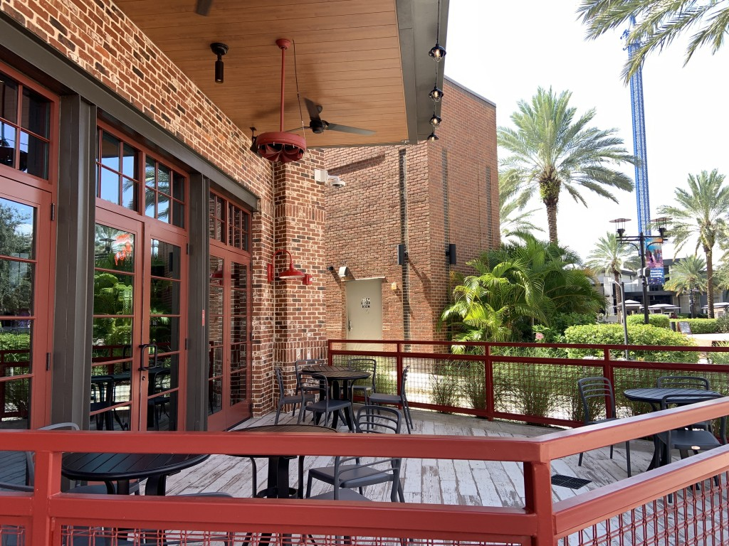 Ole Red Patio