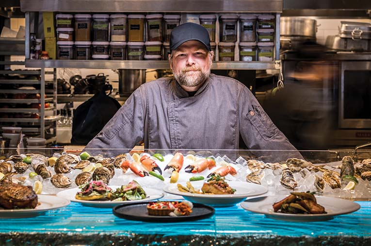 Chef Ryan Mclaughlin, Dexter's New Standard, Photo By Roberto Gonzalez