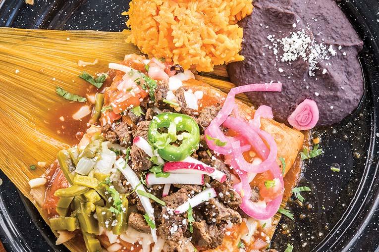 Carne Asada Tamale From Tamale Co., Photo By Roberto Gonzalez