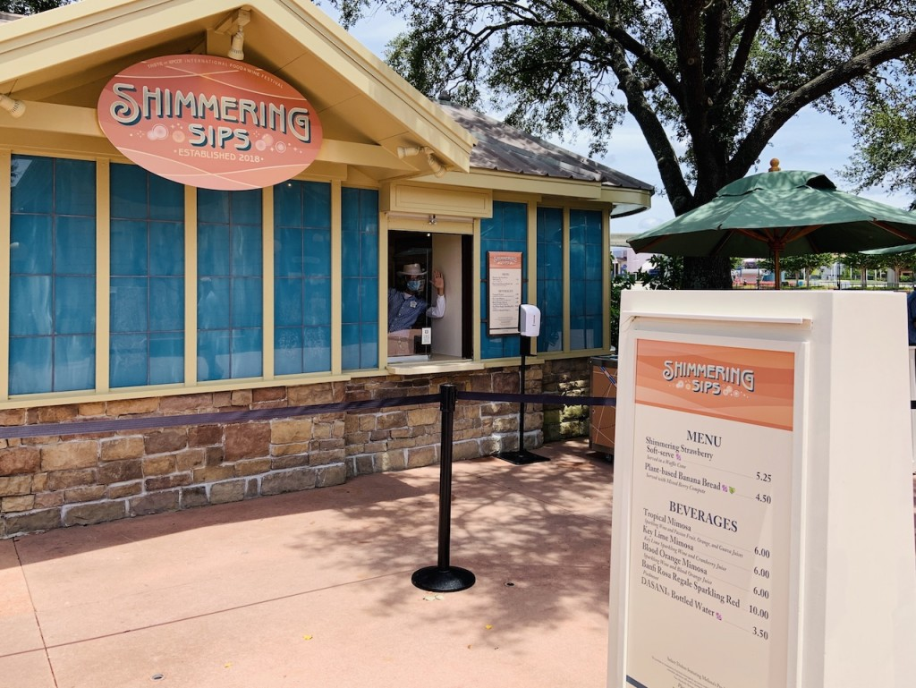2020 F&w Shimmering Sips Booth