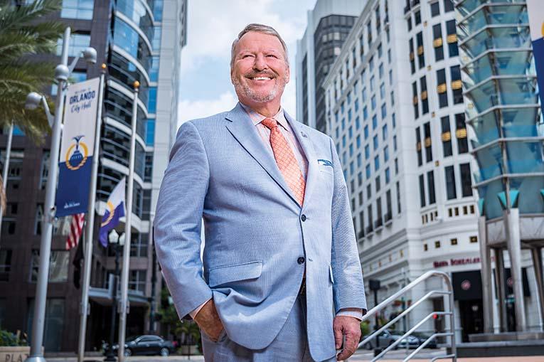 Orlando Mayor Buddy Dyer, Photo By Roberto Gonzalez