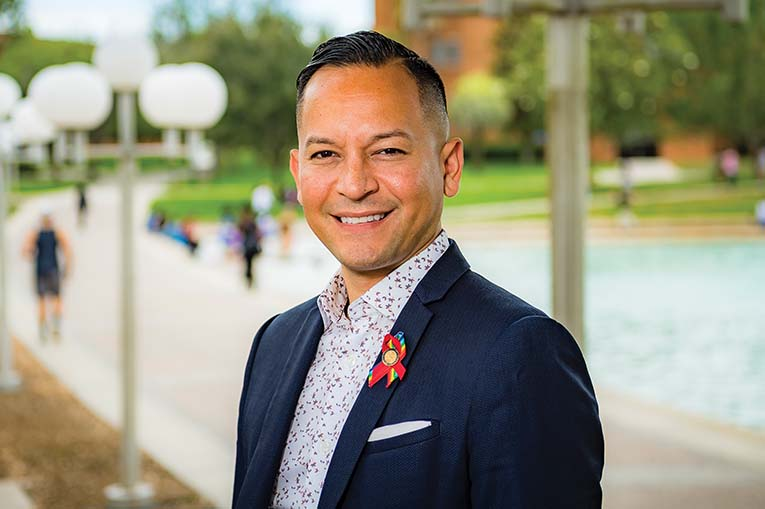 Florida State Rep. Carlos Guillermo Smith At Ucf, Photo By Roberto Gonzalez