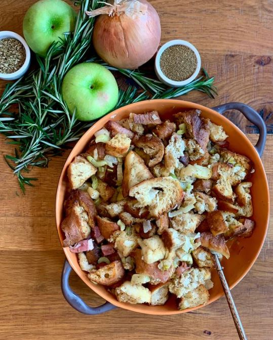 Apple Pancetta Stuffing Terralina