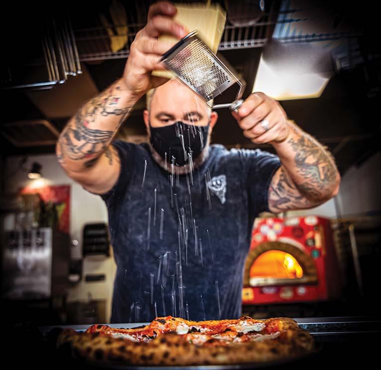 Pizza Bruno, Owner Bruno Zacchini Photo By Roberto Gonzalez
