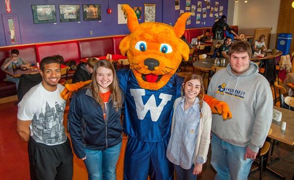 Webster Mascot Photo