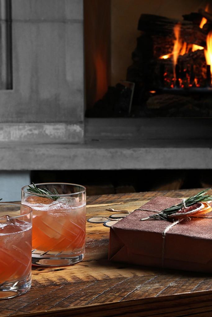 Basil Hayden's Winter Spiced Mule