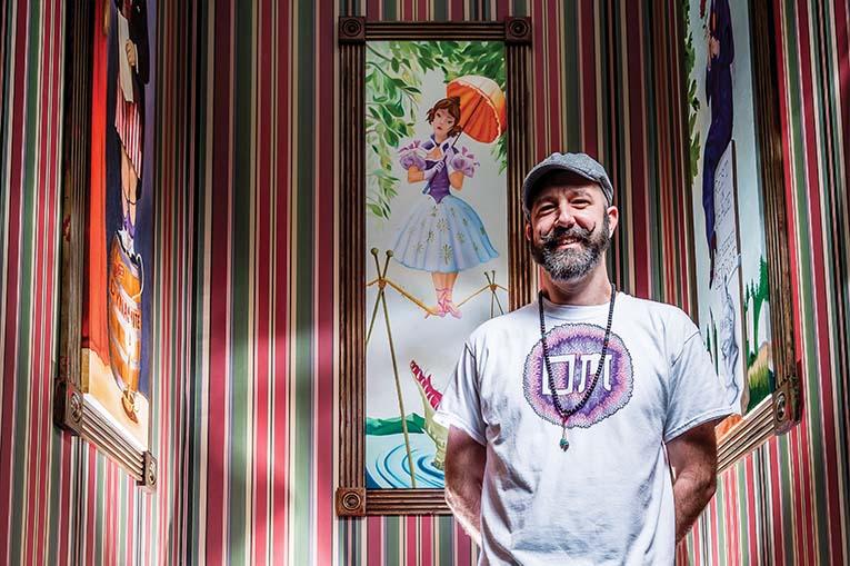 Scenic Designer Charles Richardson, Photo By Roberto Gonzalez