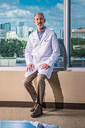 Dr. Mark Steiner Mm, Orlando Health, Photo By Roberto Gonzalez