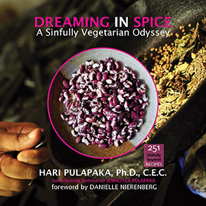 Dreamng In Spice A Sinfully Vegetarian Odyssey Book Cover