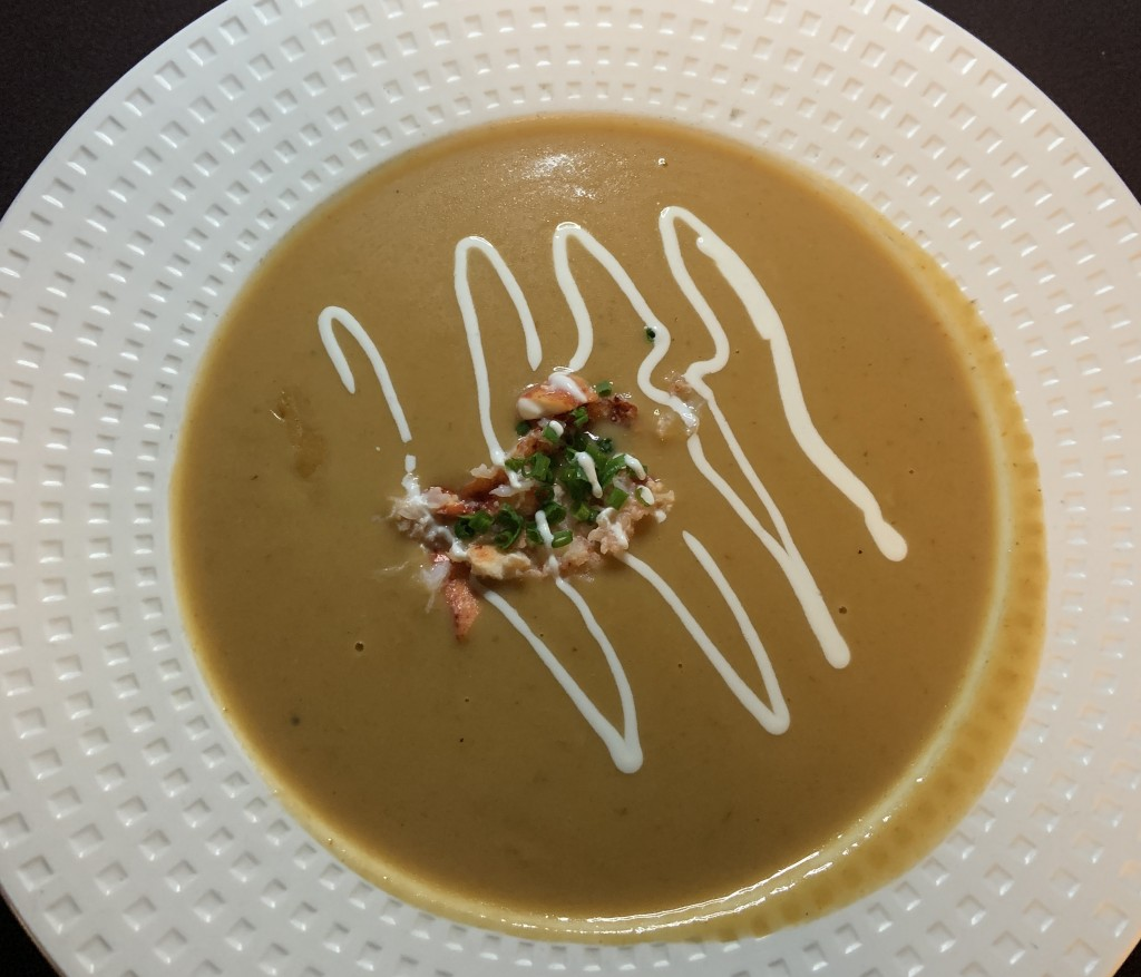 A Land Remembered Lobster Bisque Fehr