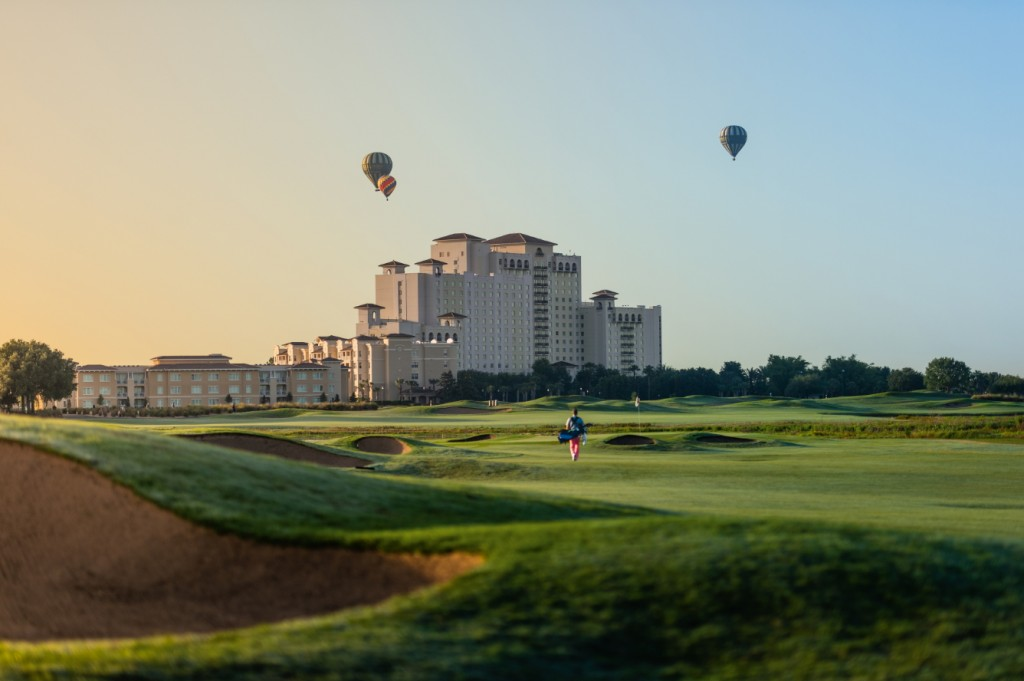 Orlando Golf With Hot Air Balloons
