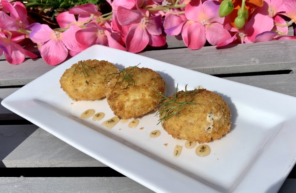 Seaworld Goat Cheese Croquettes Fehr
