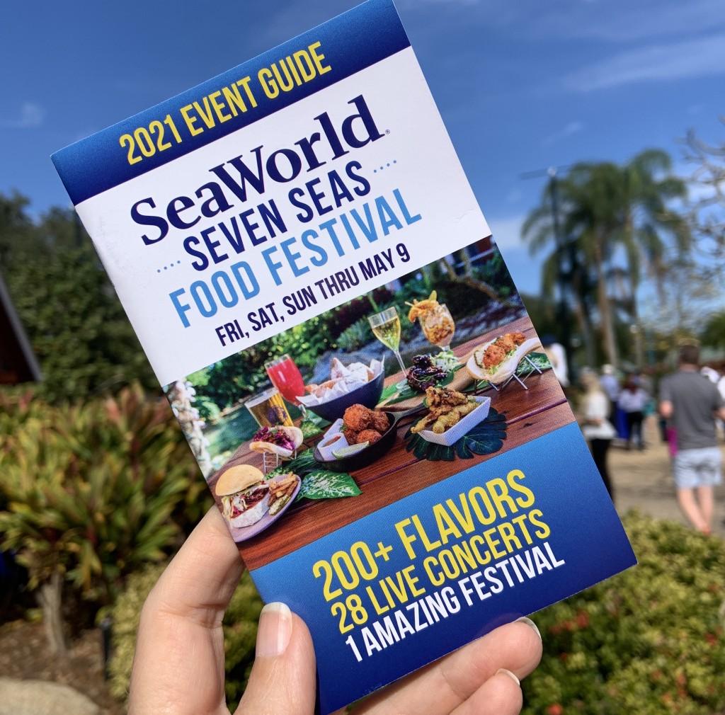 Seaworld Seven Seas Festival Guide