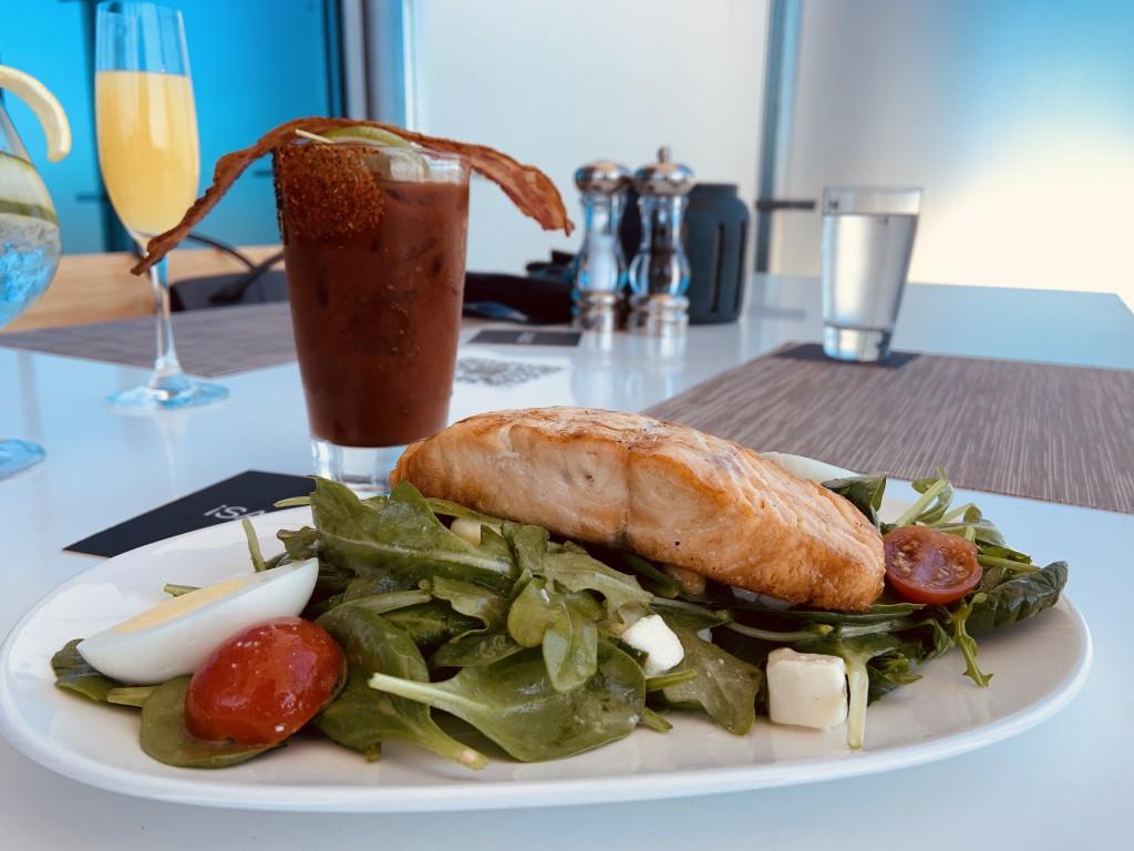 Ac Orlando Skybar Salmon Salad Fehr