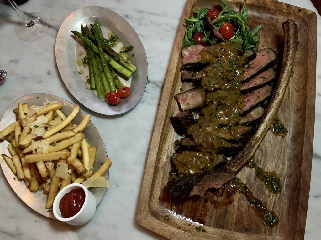 The Boheme Tomahawk And Sides