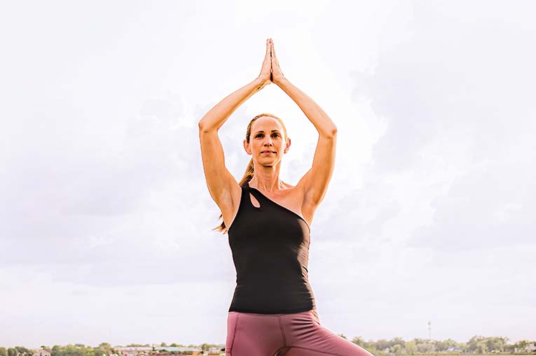 Yoga On The Dock, Photo By Roberto Gonzalez