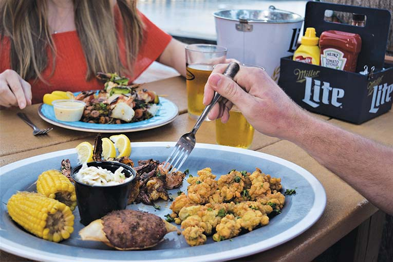 Local Seafood Abounds At Palms Fish Camp Credit Visit Jacksonville
