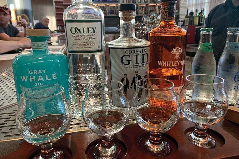 Sear Sea Bar Gin Flight Fehr