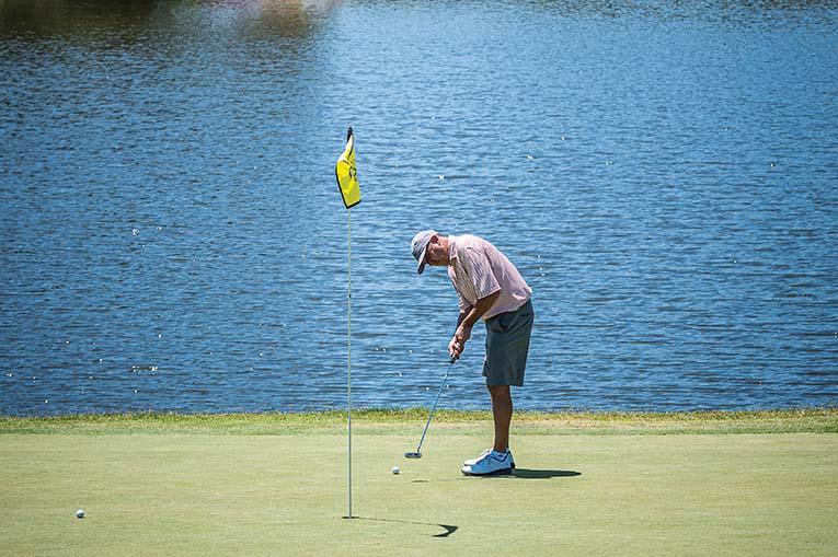 Golfer At Arnold Palmer's Bay Hill Club, Photo By Roberto Gonzalez