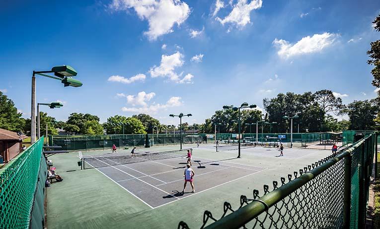 Fort Gatlin Tennis Center, Conway, Photo By Roberto Gonzalez