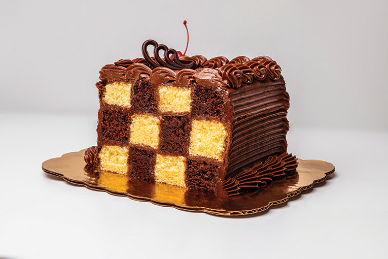 Charlie's Gourmet Pastries, Checkerboard Cake, Photo By Roberto Gonzalez